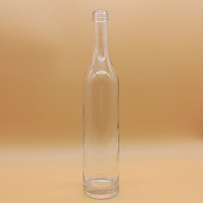 Wholesale 70cl Long Neck Round Whiskey Bottle Corked