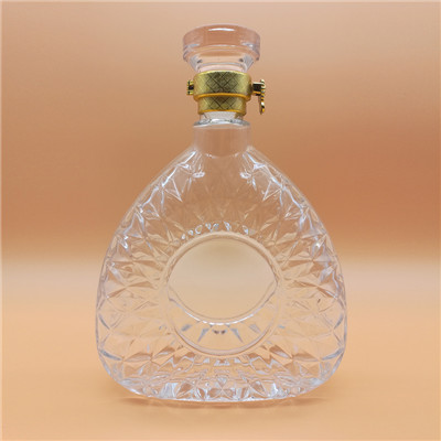 Clear Glass Bottles Wholesale 750ml