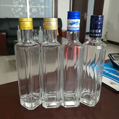 Custom Liquor Bottle From Glass Bottle Manufacturers