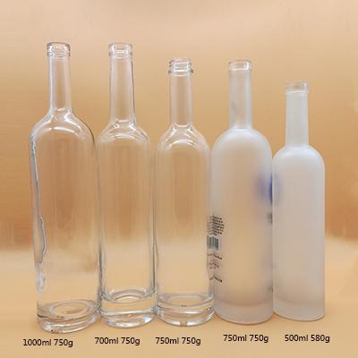 700ml 1000ml Glass Liquor Bottle Suppliers