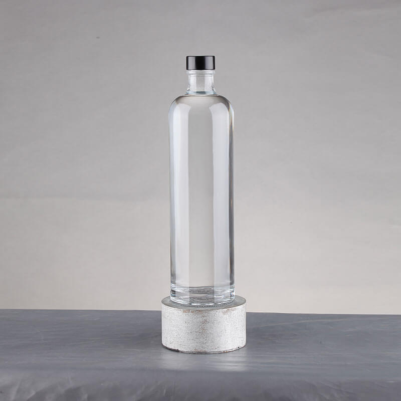 Wholesale Round 350ml Glass Juice Bottle Wholesale With Cork