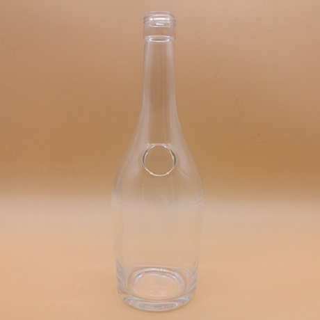 700ml Clear Special Glass Bottles Wholesale