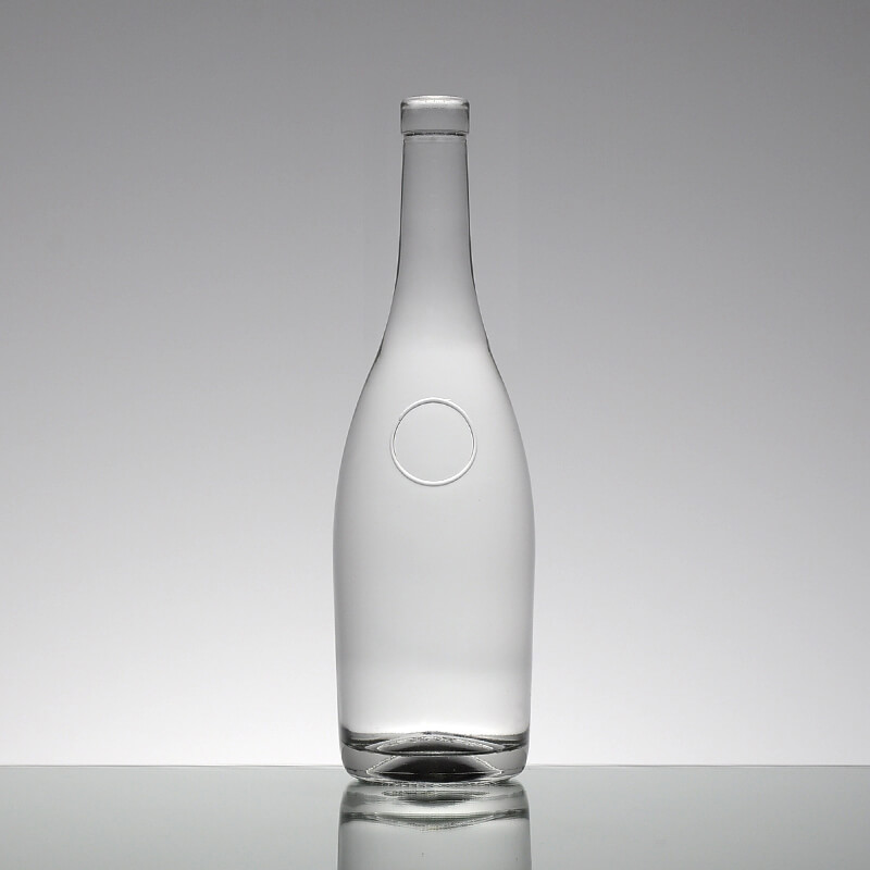 Clear 750ml Glass Bottles With Screw Caps Wholesale