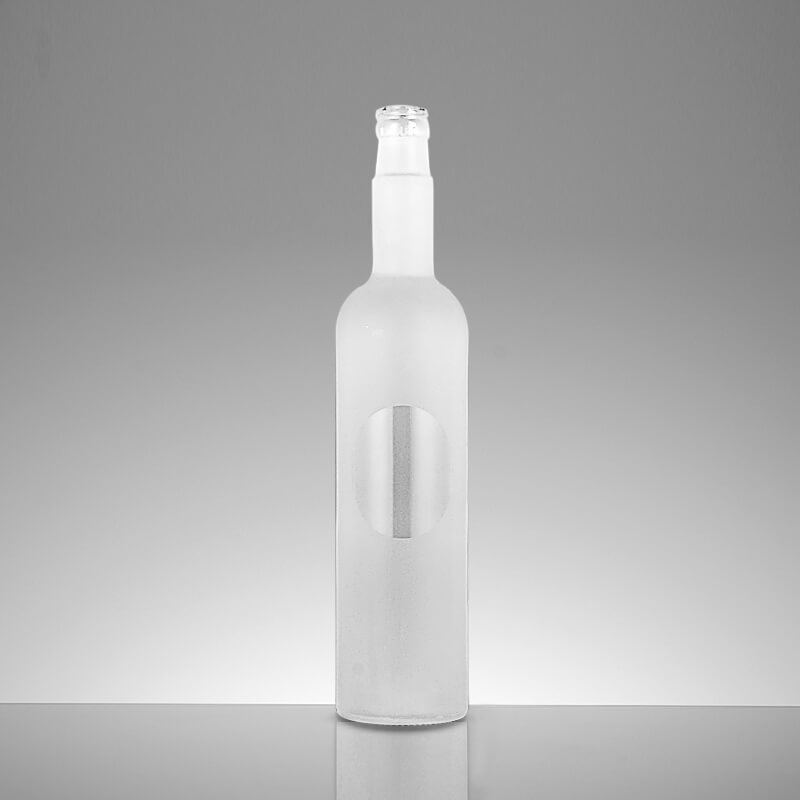 750ml Frosted Glass Bottles Wholesale
