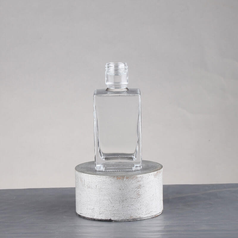 Top Grade 50ml Square Glass Bottles Wholesale