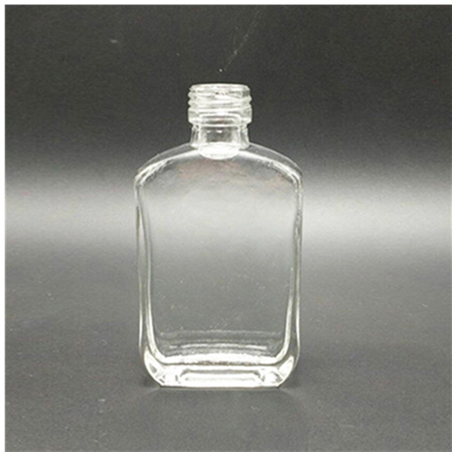 50ml Transparent Glass Bottle For Liquor