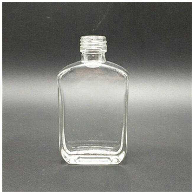 50ml 100ml Transparent Glass Bottle For Liquor