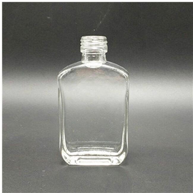 Miniature Glass Bottles 50ml 100ml Transparent Glass Bottle For Liquor
