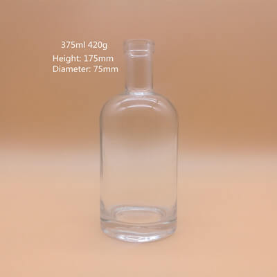 Boston Round Glass Bottles Wholesale