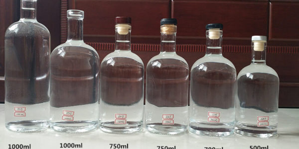 Small Mouth Glass Bottle