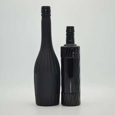 500ml 750ml Black Glass Bottles Wholesale