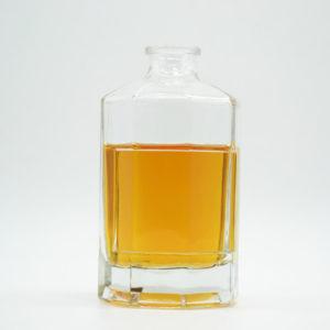 Square Vodka Bottle