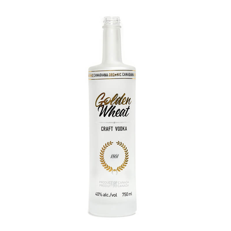 Frosted Vodka Bottle