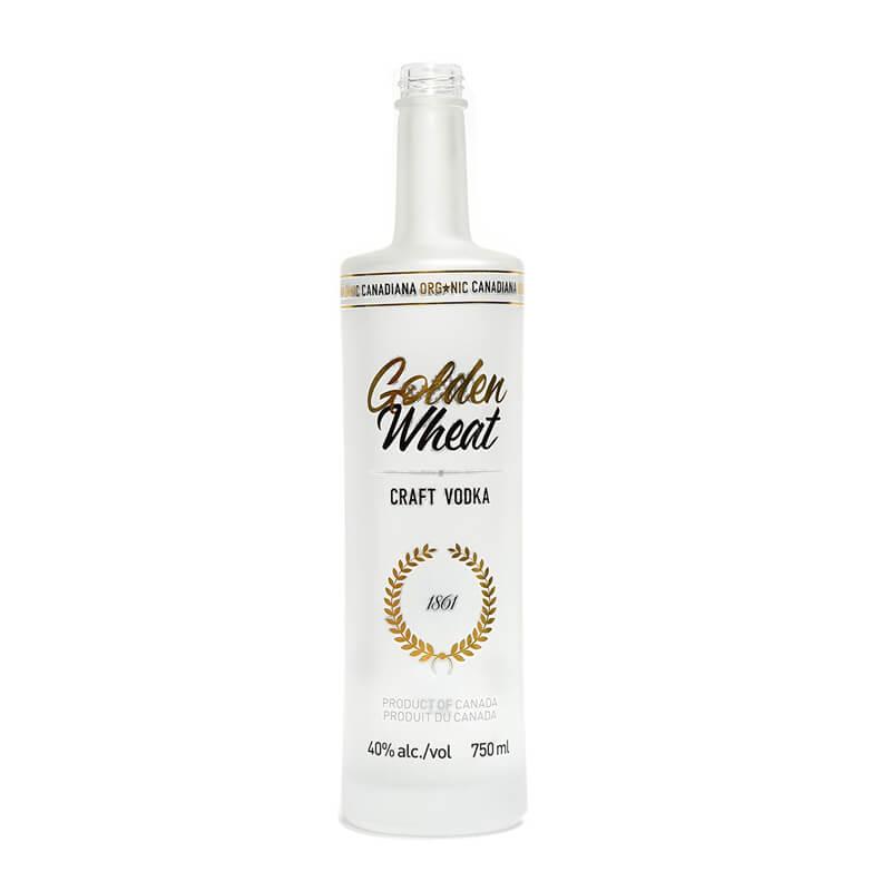700ml 750ml 1000ml Frosted Vodka Bottle Wholesale