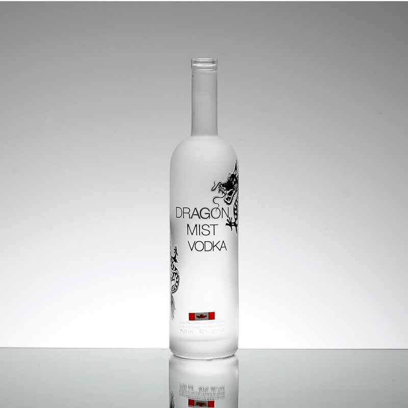 Custom 750ml 700ml 500ml Glass Bottle For Vodka