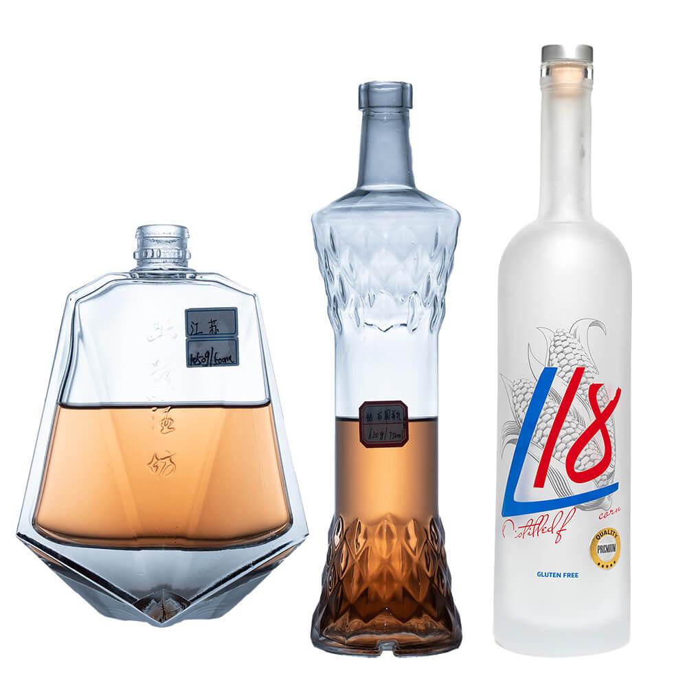 Custom Vodka Bottle