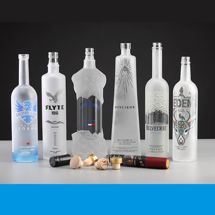 custom liquor bottle