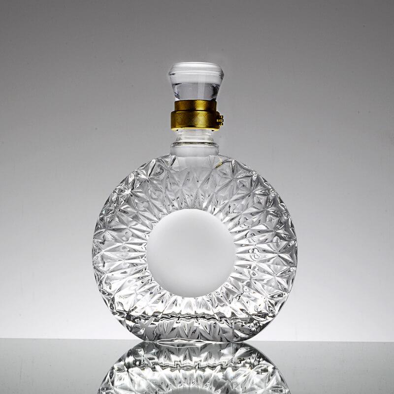 700ml/750ml Round Empty Whiskey Bottles