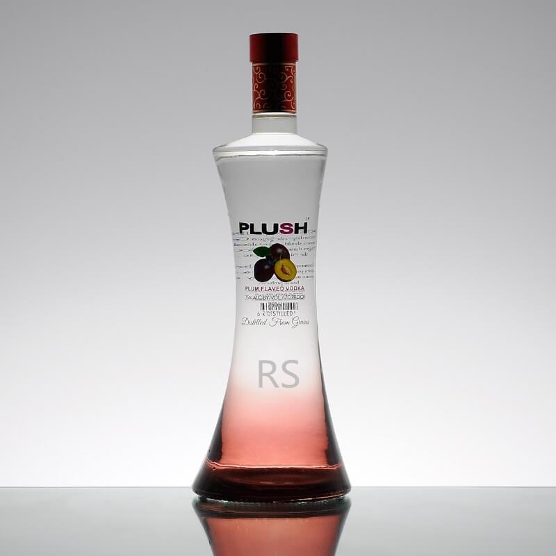 Skirt Shape Fancy Vodka Bottle Wholesale Price