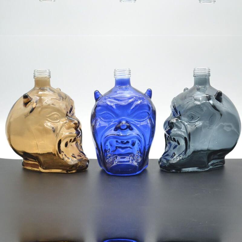 500ml/700ml/750ml Crystal Head Skull Vodka Bottle Wholesale