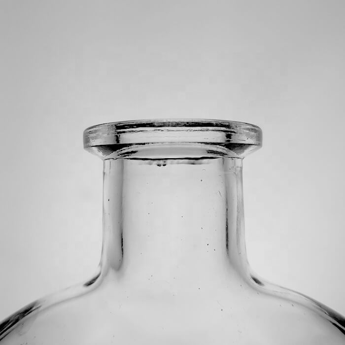 Wholesale Round 350ml Glass Bottle With Cork