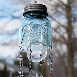 Bottle Bell Wind Chime