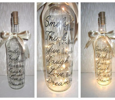 40 Creative Glass Bottle Recycling Ideas