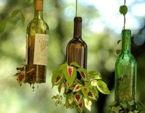glass bottle recycling idea