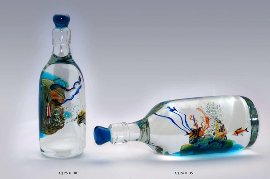 glass bottle recycling ideas