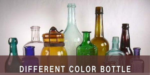Different color Bottle